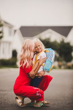 School has officially started which means Lucy is in Pre-Kindergarten, and Greta sits in the doorway sobbing whenever she leaves! Somewhere Devine, Kids Going To School, Why Book, Discount Travel, First Day Of School, Random Stuff, Preschool, Happiness, Couple Photos