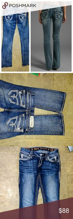 Rock revival 26R Johanna boot stretch jeans Great condition Rock Revival Jeans Boot Cut