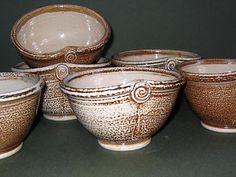 Fossil Fish Pottery Mug Bruce Gholson Seagrove North