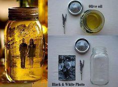 How To Make Vintage Memory Jars