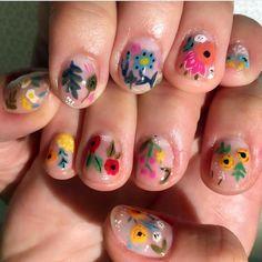 Trendy ideas for manicure natural nails negative space Fancy Nails, Cute Nails, Pretty Nails, Nail Polish, Short Nails, Spring Nails, Nail Arts, Wedding Nails, Wedding Art