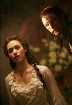 """Phantom of the Opera. They should rename this movie """"Creepy Stalker Guy With a Mask and the Stupid Teenage Girl."""""""