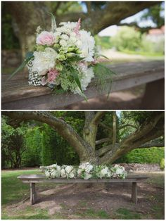 Laura & Jake, rustic flowers www.theflowersmiths.co.uk at Nettlestead Place |  Kent and UK Wedding Photographer | Rebecca Douglas Photography | Soft, natural, relaxed, creative, fun