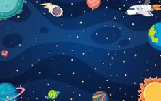 Starry Night Background, Galaxy Background, Star Background, Starry Night Sky, Cartoon Background, Vector Background, Creative Flyer Design, Creative Flyers, Space Backgrounds