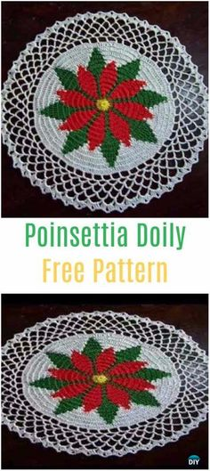 Free Crochet Christmas Doily Patterns Vintage Christmas Doilies