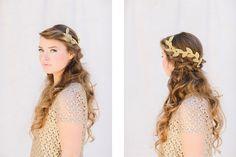 { Wedding Inspiration } Lo Boheme Hair Accessories  Photography: Mirelle Carmichael Photography