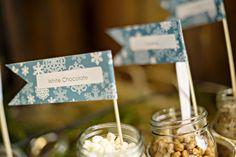 Stunning winter wonderland themed wedding in Georgia