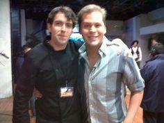 Con El Pollo Arrabal (Conductor en Día a Día de Televisa Guadalajara y Artista)!!! buena vibra!!!  https://www.facebook.com/photo.php?fbid=446266485451982=a.257007834377849.59922.119318758146758=3