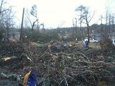 JANUARY 2012 STORMS: Tornadoes rip through Alabama for second time in 9 months