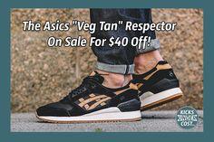 "The Asics ""Veg Tan"" Respector On Sale For $40 Off!"