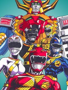 power rangers wild force by Gonzo1701 on DeviantArt