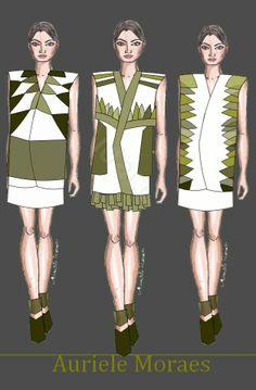 Auriele (desenhos de Moda): Do singular ao plural