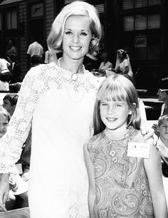 Tippi Hedren and her daughter Melanie Griffith