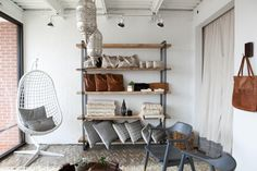 Industrial Chic Shelving Unit, Modern Bookcase, Reclaimed Wood, Storage by DendroCo on Etsy https://www.etsy.com/listing/129762660/industrial-chic-shelving-unit-modern