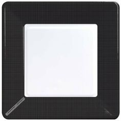 Coordinate Textured Square 9-inch Plates, Black by Creative Converting. $2.29. 9-inch Plates. Black. Coordinate Textured