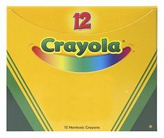 "CRAYOLA BULK CRAYONS 12 CT VIOLET by CRAYOLA BULK CRAYONS 12 CT VIOLET. $2.44. Crayons. Regular Size, 3-5/8"" x 5/16"", 12 per Box. One color per case."