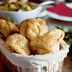 Fresh Thyme Popovers Recipe | MyRecipes.com Mobile