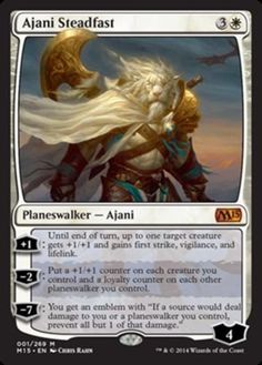 Ajani-Steadfast-x1-Magic-the-Gathering-1x-Magic-2015-mtg-mythic-rare-card