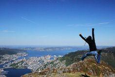 Ulriken, Bergen, Norway  Pure joy :)