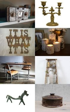 Rustic by Elinor Levin on Etsy--Pinned with TreasuryPin.com