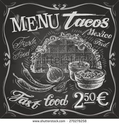 Mexican Menu Stock Photos, Images, & Pictures | Shutterstock