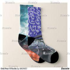 Odd Pair O'Socks Socks Diy Mask, Diy Face Mask, Dog Design, Crew Socks, Kids Shop, Pairs, Unisex, Pattern, Stuff To Buy