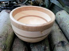 Small bowl,   Pine and oak