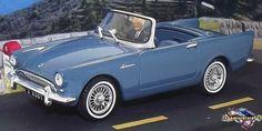 Sunbeam Alpine Spider Series II 1960 1/43 Austin Healey Sprite, Triumph Spitfire, Carroll Shelby, Peugeot, Spider, Bmw, Vehicles, Scale Model Cars, World War One