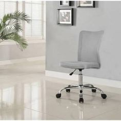 Mainstays Desk Chair, Multiple Colors, Gray