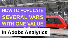 🎥 How to populate several Adobe Analytics variables with one value? #AdobeAnalytics