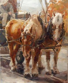 Lindsey Bittner Graham (oil on panel)