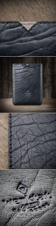 """Galaxy Tab S3, Book Ledertasche Leder Tasche Hülle """"Werkstück"""" in schwarz, passend gefertigt für Samsung Galaxy Tab S3 oder Samsung Galaxy Book #Samsung #Galaxy #Tab #S3 #Book #case #sleeve #schwarz #leather #leder #black #schwarz #men #mens #grained #raw #rustic #crude #tasche #hülle"""