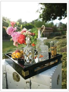 Luxe summertime picnic.  Event design, style and coordination by Alchemy Fine Events