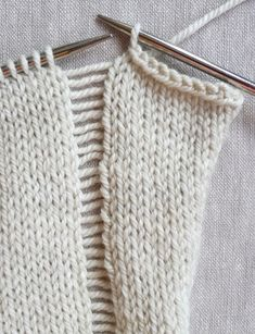 Whit's Knits: Lines + Squares Baby Blanket - The Purl Bee - Knitting Crochet Sewing Embroidery Crafts Patterns and Ideas!