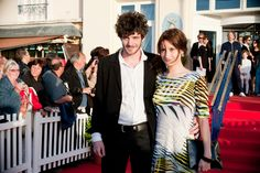 Felix Moati and Lola Créton masculine and feminine revelations of the 2013 Cabourg Film Festival