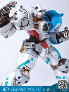 MG 1/100 Gundam AGE-1 Titus - Customized Build
