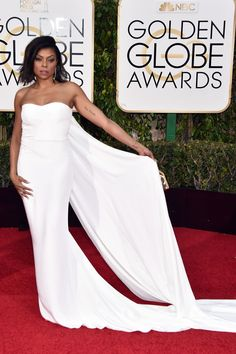 Taraji P. Henson Gave Us the Hands-Down Fiercest Red Carpet Pose of the Night