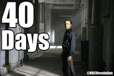 40 days until #Revolution returns!! Holy crap, WHAT??? I didn't even know this!!!! Yay!!!!!!!!!!!!!!!!!! :D @Allison Bowers