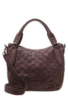 GINA - Handtasche - dark brown