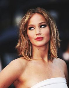 Considering Jennifer Lawrence and I chopped our hair at the same time... hers is just a tad longer then mine... ill take it <--- her hair in thisssssss <3