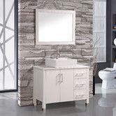 "Found it at AllModern - Aruba 40"" Single Sink Bathroom Vanity Set with Mirror"