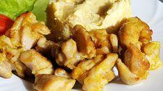Vaříme bez tuku: Pikantní křupavé kuřecí kousky s kurkumou