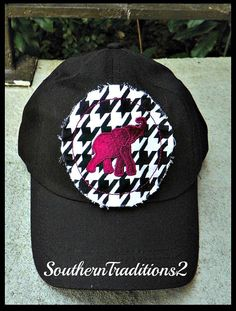 Personalized Ladies Elephant Raggy Patch by SouthernTraditions2, $20.00