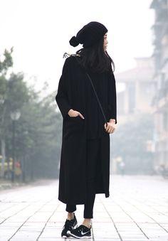 | ♥ lång höstkappa