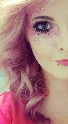 #Fairy #Makeup <3 Idea for my ballet makeup, but instead of pink it will be gold.