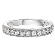 Anabelle Diamond Wedding Ring Steven Singer Jewelers