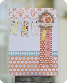 cards with eyelets - Google Search