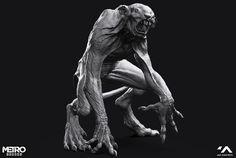 Creature Design, Game Character, Werewolf, Rats, Cute Art, Sculpting, Cool Pictures, Lion Sculpture, Creatures