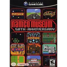 Namco Museum: 50th Anniversary (Nintendo GameCube, 2005)