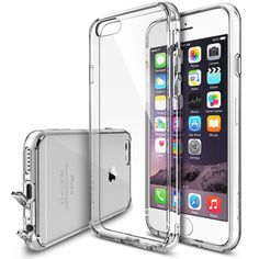 "iPhone 6 Plus Case - Ringke FUSION iPhone 6 Plus 5.5 "" Case [Free HD Film/Dust Cap&Drop Protection][CRYSTAL VIEW] iPhone 6 Plus Case Shock Absorption Bumper Premium Hard Case for Apple iPhone 6 Plus 5.5 Inch - Eco/DIY Package:Amazon:Cell Phones & Accessories"